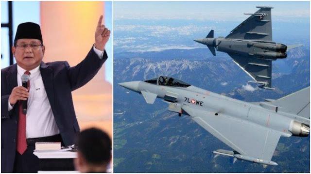 Austria Peringatkan Prabowo, Jet Tempur Bekas untuk TNI Banyak Masalah