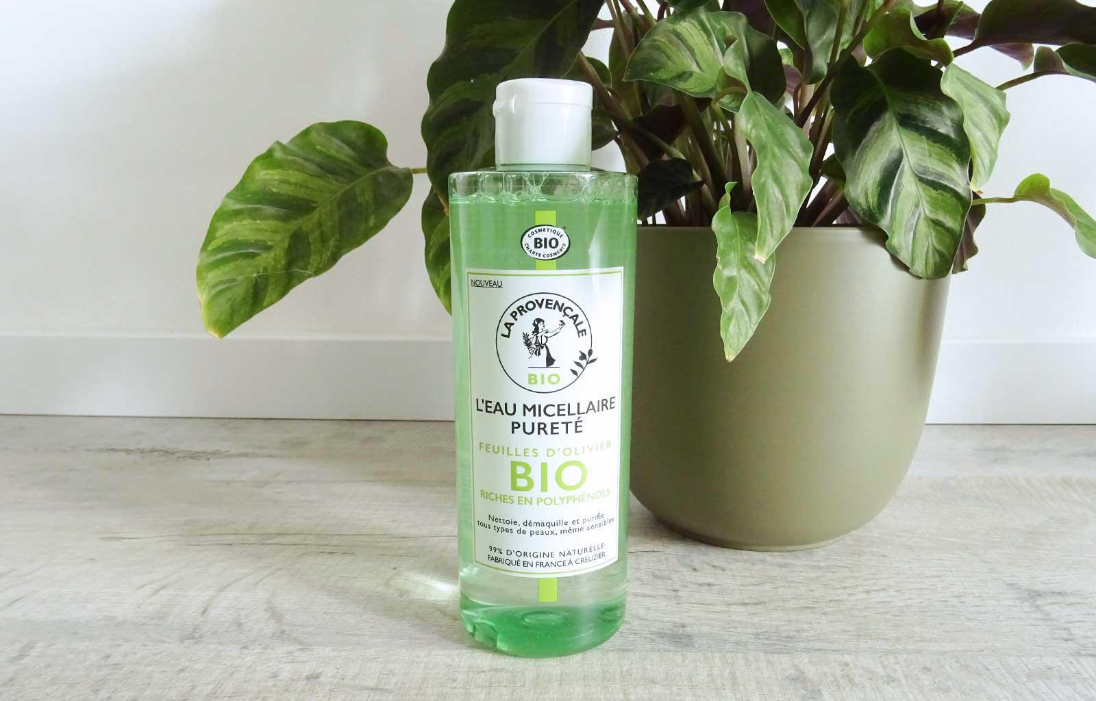 La provençale eau micellaire pureté