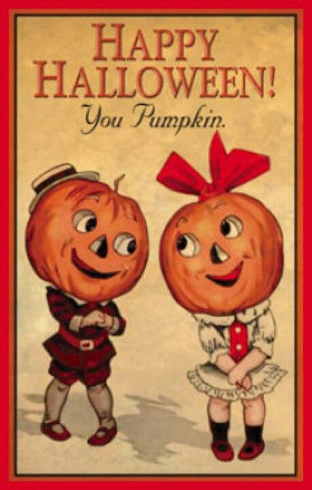 32 Lovely Vintage Halloween Postcards That Make You Feel ...