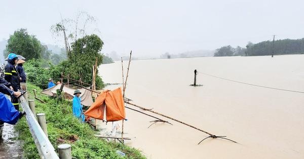 Nghệ An có 5 người chết và mất tích do mưa lũ