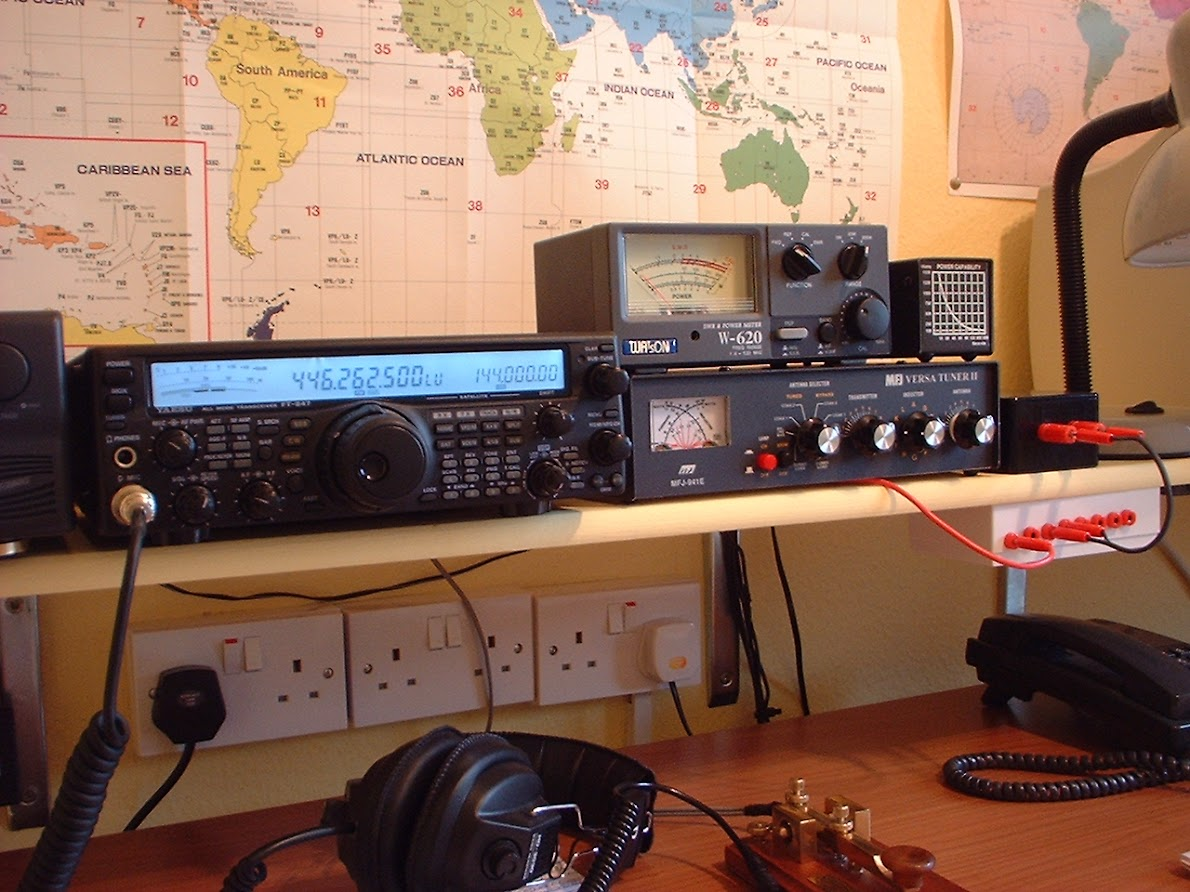G4YDM  Ham-Radio and SWL news