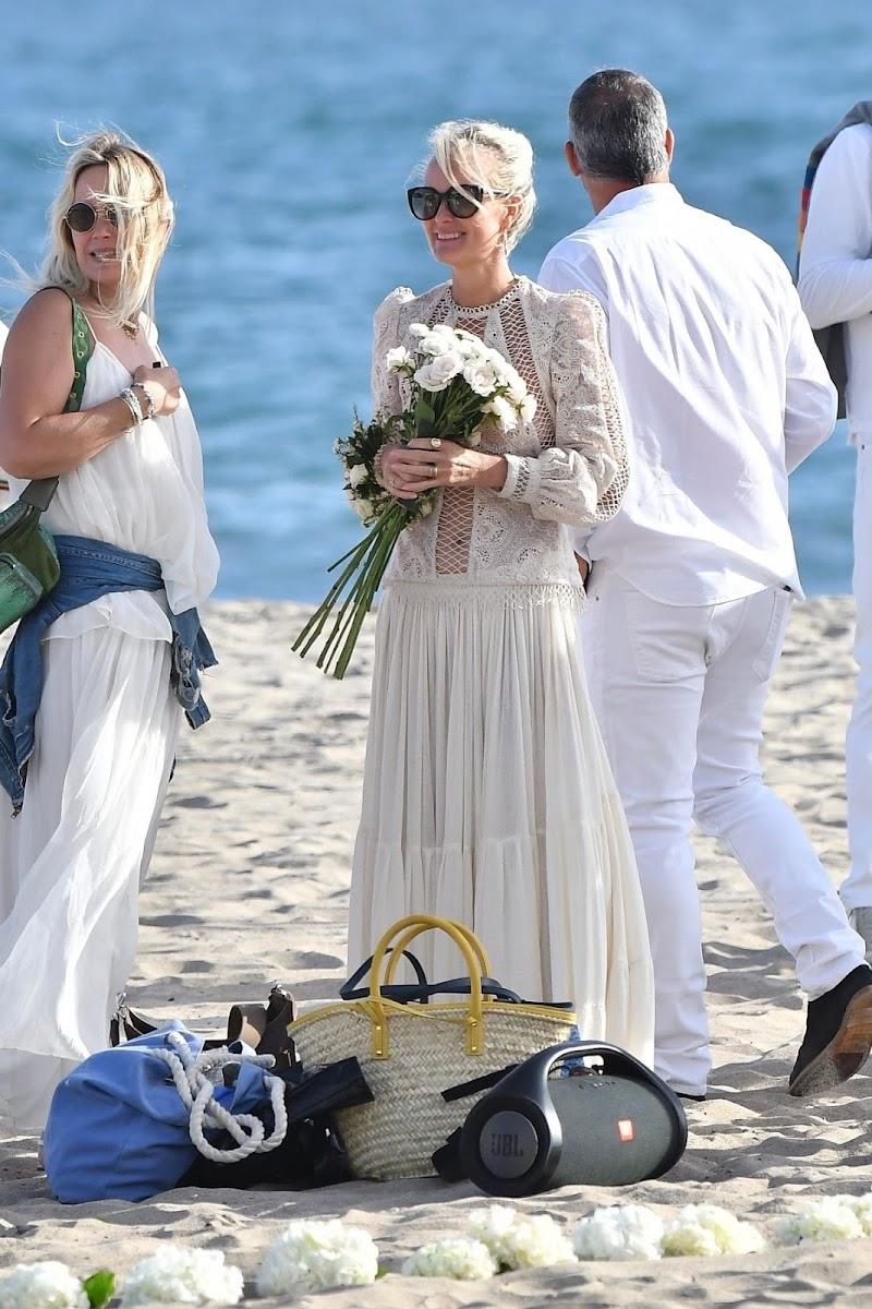 Laeticia Hallyday Celebrates Johnny Hallyday's Birthday at a Beach in Malibu 15 Jun -2020