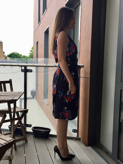 Diary of a Chain Stitcher: By Hand London Orsola Dress in Floral Viscose