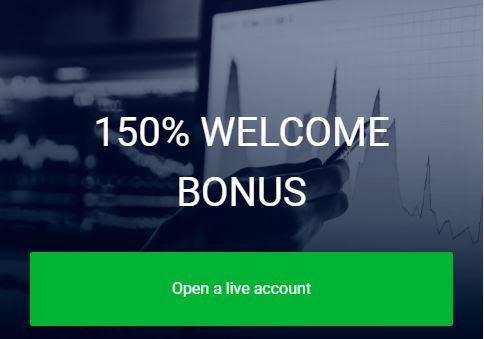 AMEGA 150% Deposit Bonus (Welcome Bonus)