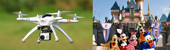 15 coisas estranhas proibidas na Disneylândia - Drones