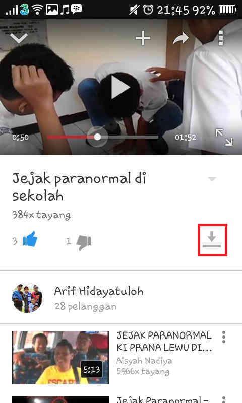 Cara download dari youtube via hp android qt-haiku. Ru.