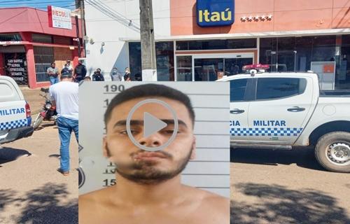 Vídeo: Bandido morto em tentativa de assalto tinha 22 anos e levou tiros de sargento do Exército