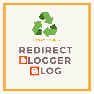 how to redirect blogger blog to new domain
