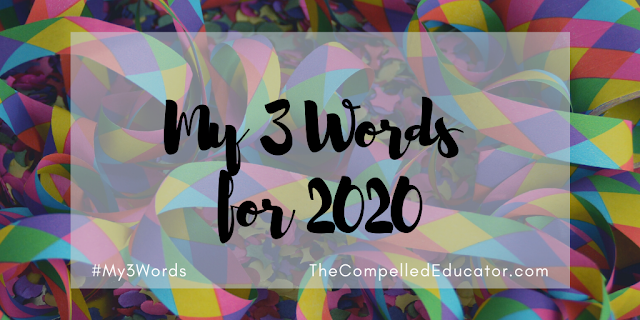 My 3 words for 2020 by @Jennifer_Hogan #my3words
