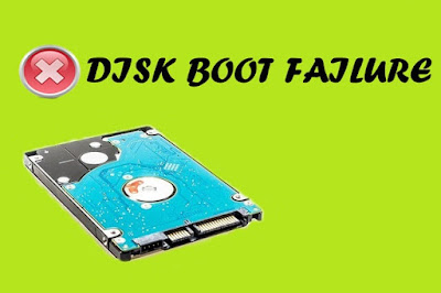 How to Fix Disk Boot Failure Insert System Disk | System Disk Error