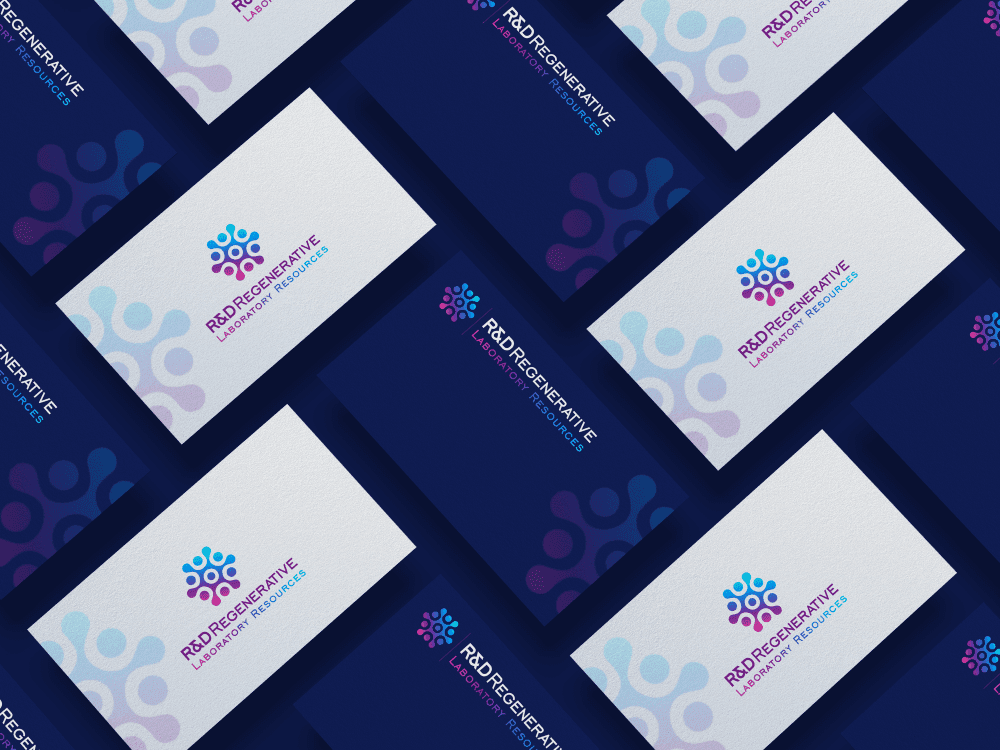 Business Cards Design R&D Labs
