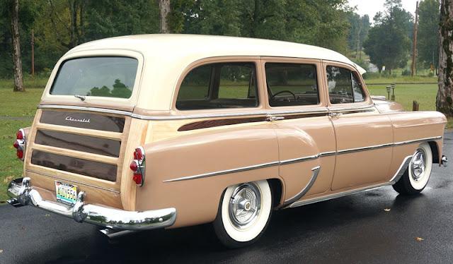 247 Autoholic Wagon Wednesday 1953 Chevrolet Wagon