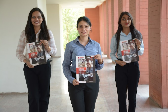 Admissions to Undergraduate and Postgraduate distance programs for September 2021 academic session kicks off at Chandigarh University