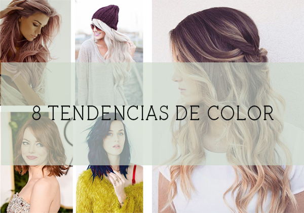 Tendencias color pelo