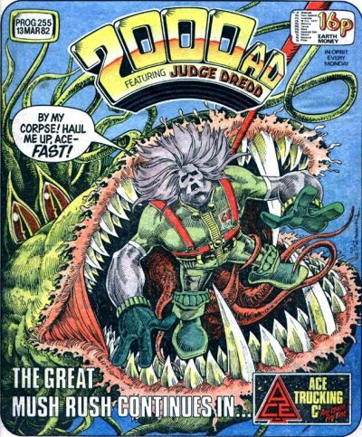 2000 AD Prog 255, Ace Trucking Co