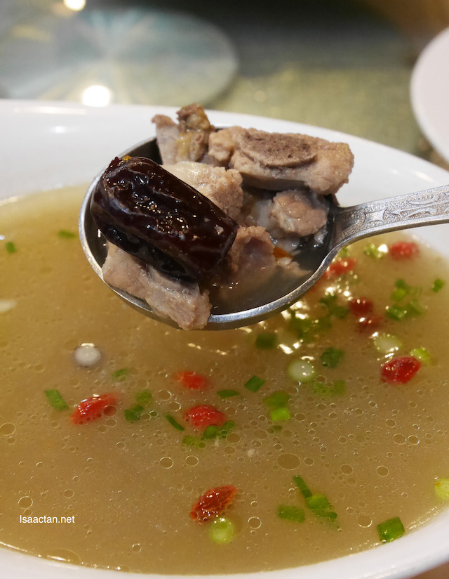 Pork Ribs with Lotus Root Soup