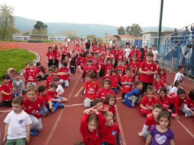 Ηγουμενίτσα: 200 αθλητές συμμετείχαν στους αγώνες στίβου που διοργάνωσε ο Πρωτέας