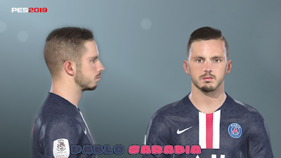 PES 2019 Faces Pablo Sarabia by Prince Hamiz