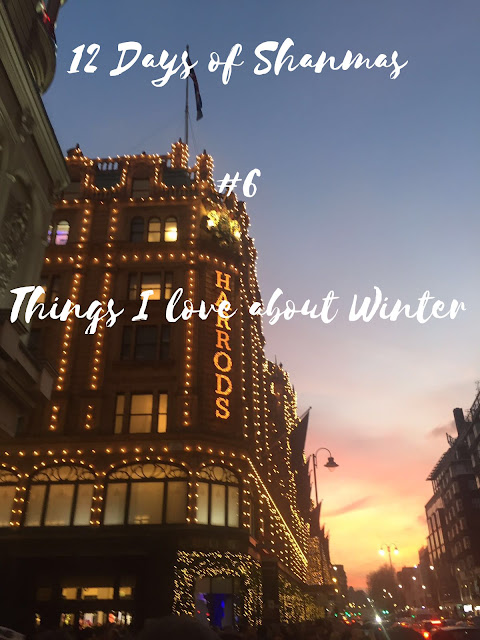 Winter is here. I have a cold and probably a hint of SAD Disorder, but there are still many positives to the festive season.