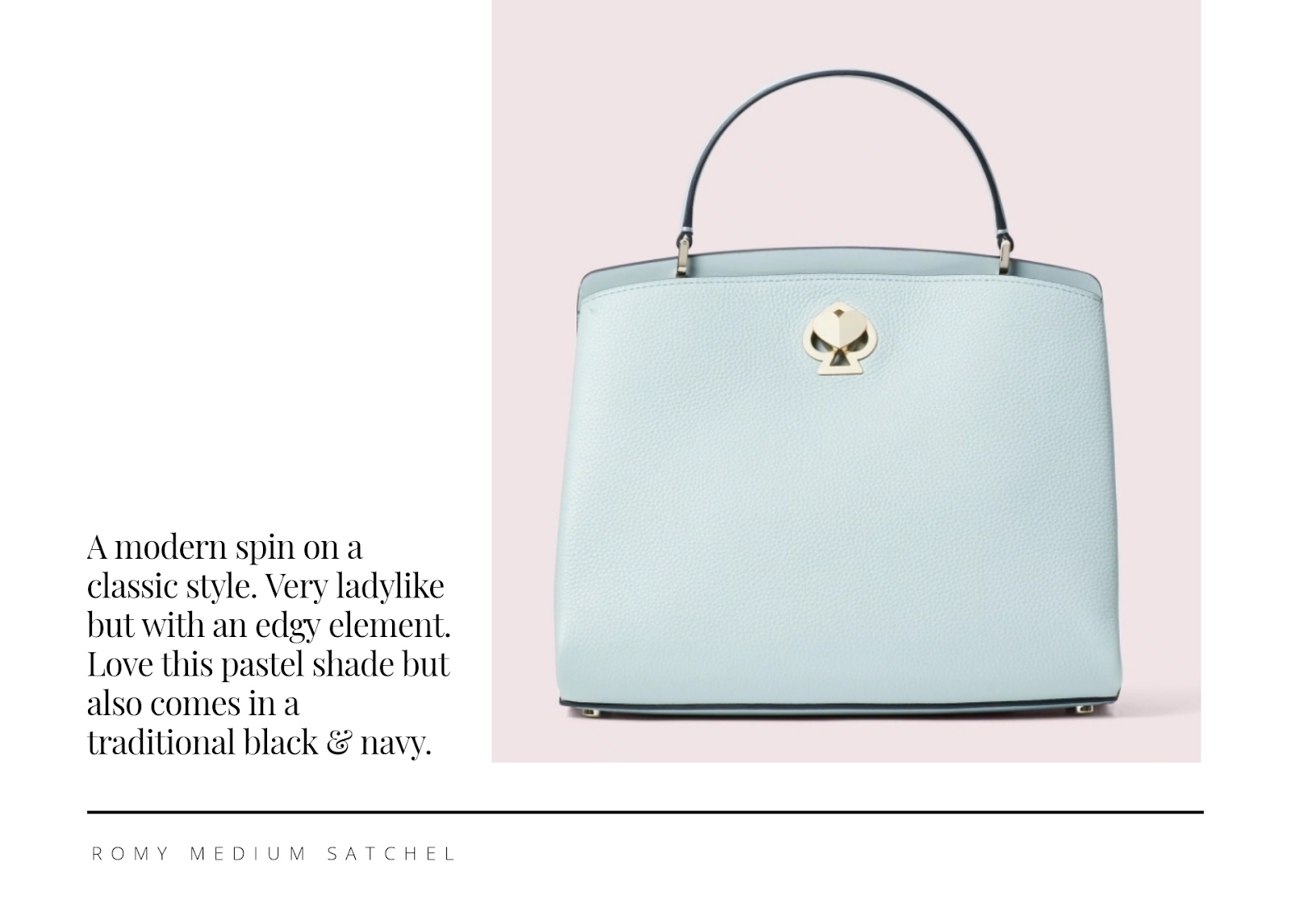 Kate Spade: Romy medium satchel