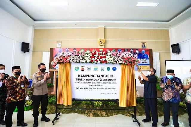 Sedang Fokus Tangani Pandemi Covid-19, Pemkot Bandung Hadirkan Kampung Tangguh Bersih Narkoba