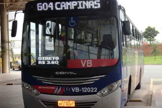 Ônibus metropolitanos tem reajuste médio de 6,89% nas tarifas