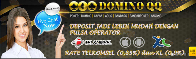 Website Judi DominoQQ Online Terbesar Di Indonesia Yang Paling Bagus