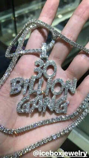 Davido's 30 Billion Gang Chain