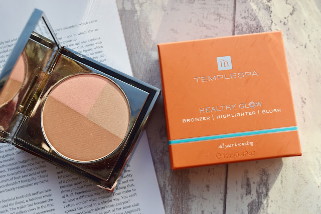 Temple Spa Healthy Glow Bronzer, Highlighter and Blush