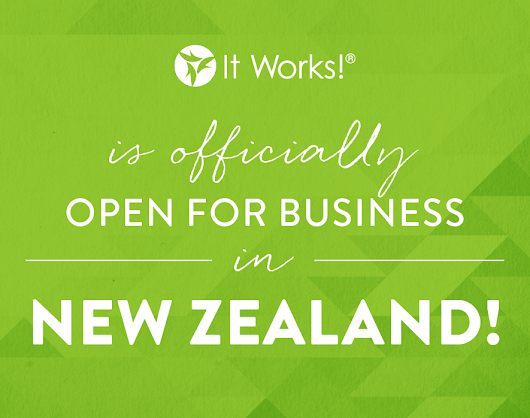 Home... Hands Full, HEARTS Full, Quiver Full!: NEW BUSINESS, NEW ZEALAND!!