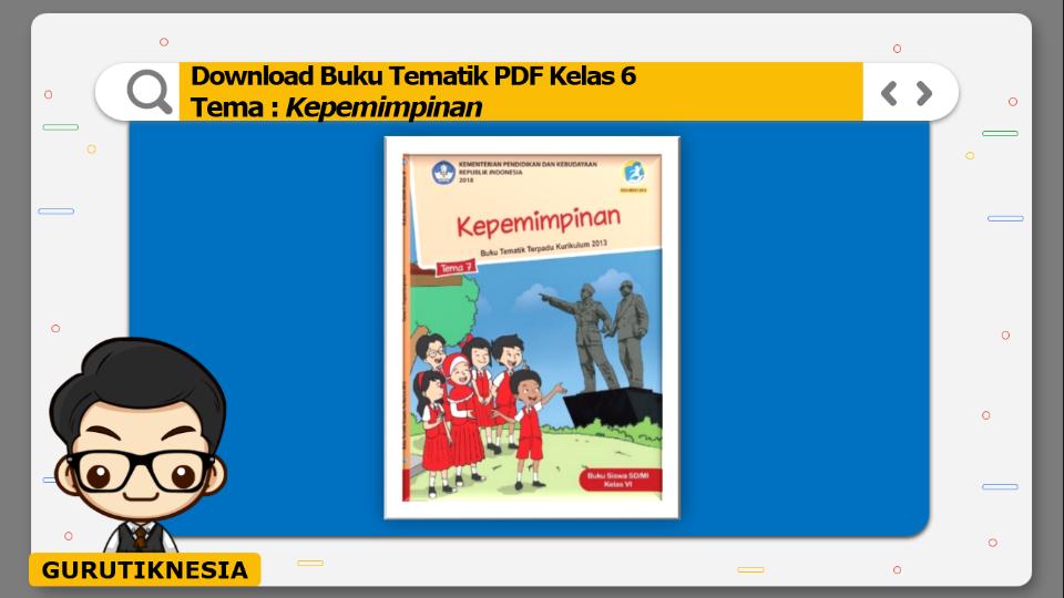 download gratis buku tematik pdf kelas 6 tema kepemimpinan