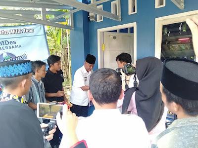 "BUMDes Jaya Bersama Desa Baturaja Launching Unit Usaha Air Bersih ""Way Miyoss"""