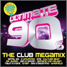 capa CD - CD Ultimate 90s the Club Megamix (2012)