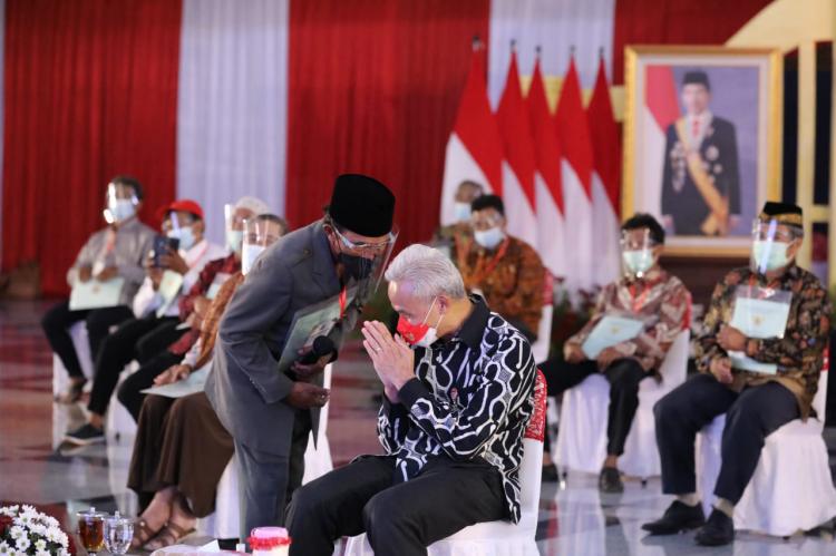 Redistribusi, Ganjar Dukung Presiden Perangi Mafia Tanah