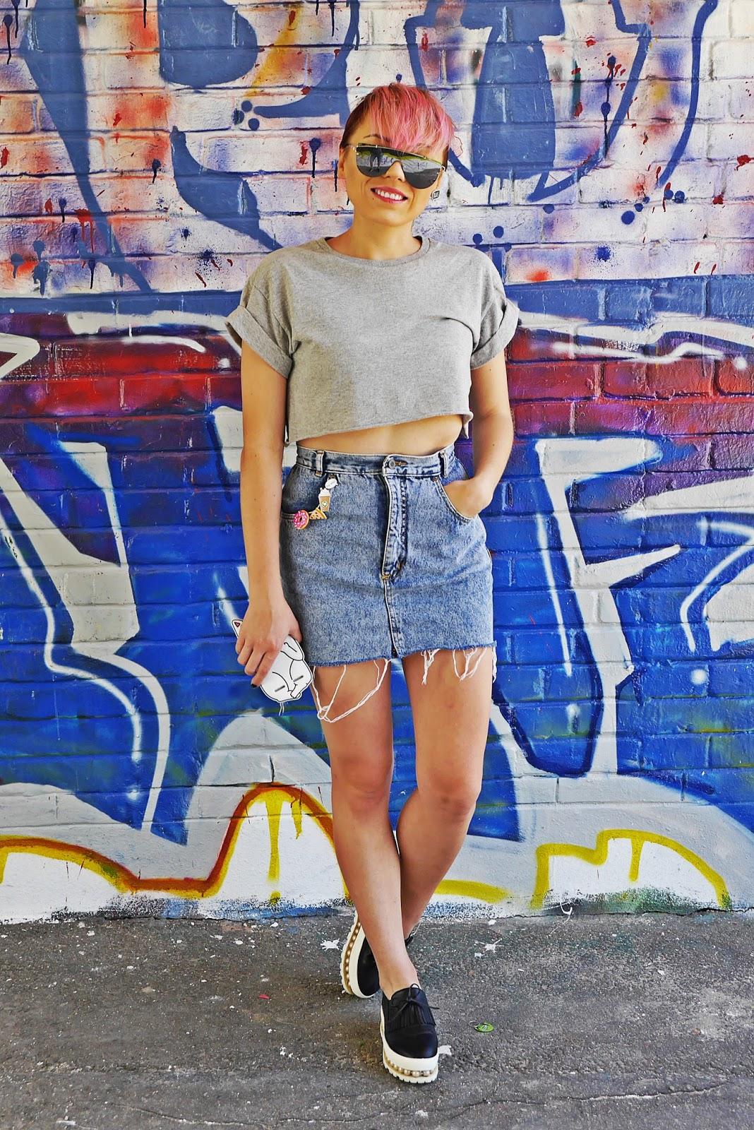 jeansowa_spodnica_crop_top_rozowe_wlosy_karyn_blog_modowy_160717fg