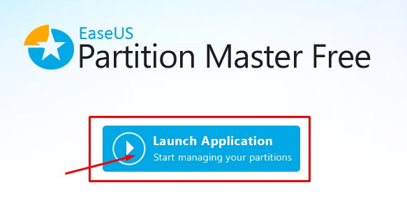 Launch EaseUS Partition Master
