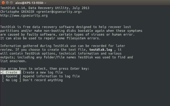 TestDisk Data Recovery Download