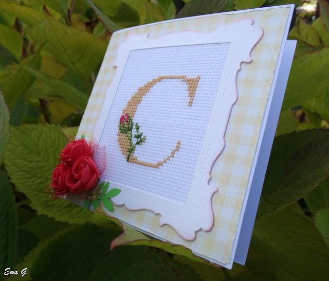 Urodzinowa kartka dla pani Celinki