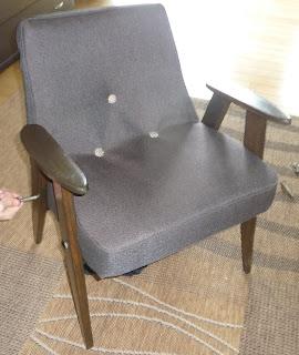 renowacja fotela chierowskiego krok po kroku