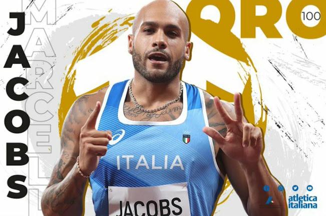 E' italiano l'oro nei 100 metri: Marcell Jacobs, che è anche nuovo record europeo