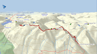 Mount Adrian Map and GPS Route