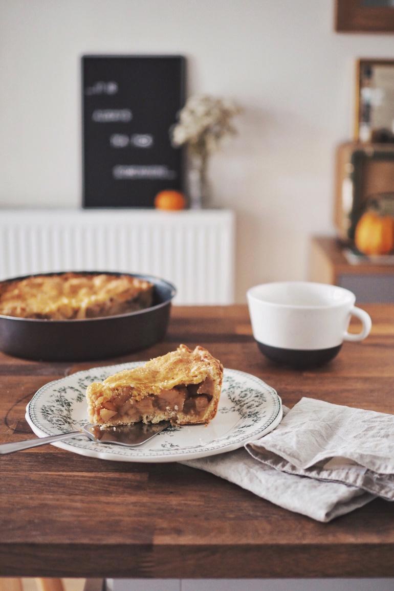 English Apple Pie Aux Saveurs D Automne Louise Grenadine Blog