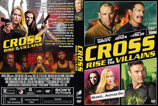 Cross Rise of the Villains DVD Cover