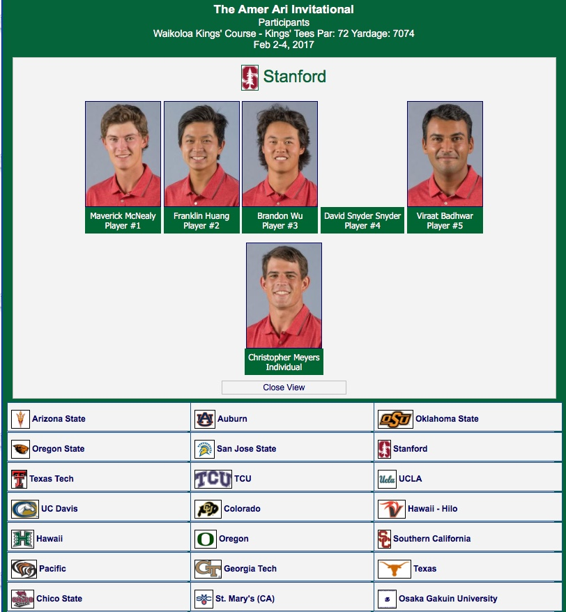 Stories of the Season: Stanford sends 6 players to compete ...