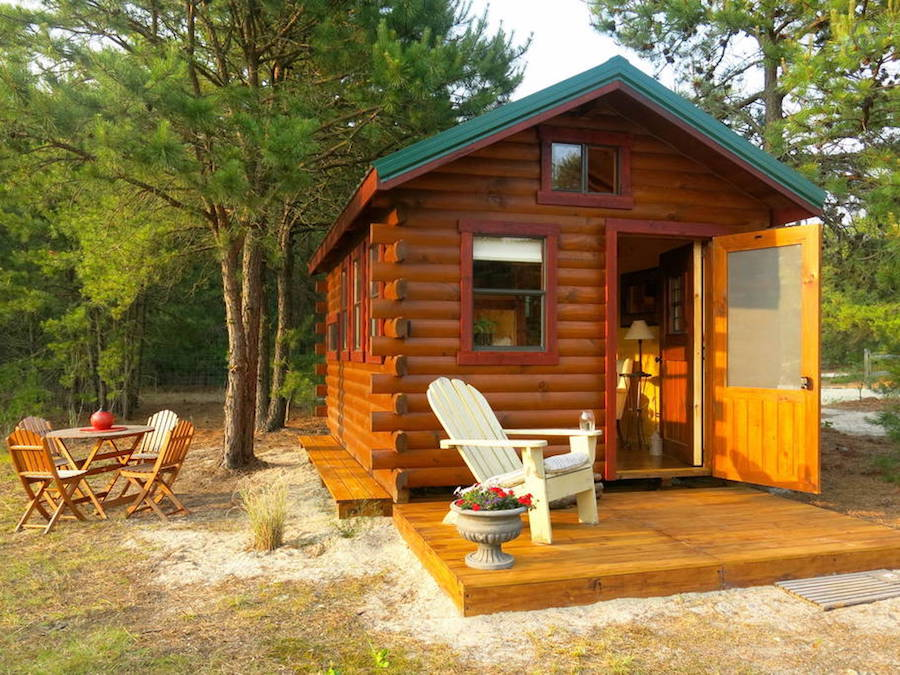 Tiny House Town Quaint Lakeside Cabin In New Jersey