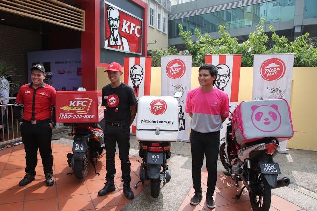 McD, KFC Dan Beberapa Premis Lain Tutup Ruang Makan Tetapi Terima Khidmat Penghantaran