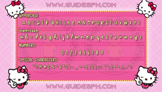 Mobile Font: Clips Font TTF, ITZ, and APK Format