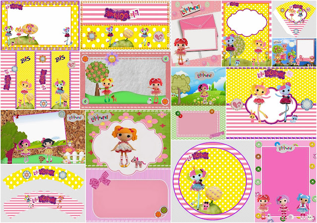 Lalaloopsy: Free Printable Birthday Party Kit.