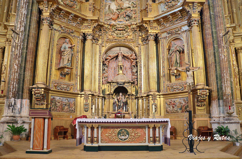 Retablo Mayor de la Iglesia de Santiago de Cigales