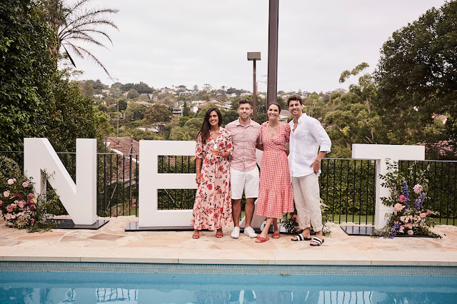 A summer pool party with NEXT: The launch of their summer collection